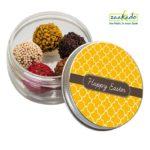 0423 Truffle bonbons in ronde pot paasgeschenken medewerkers origneel rotterdam zaakado