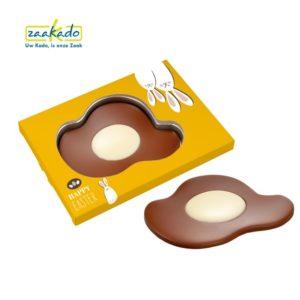 0475 Grappig & origineel gebakken chocolade spiegelei paasgeschenk pasen 100 stuks