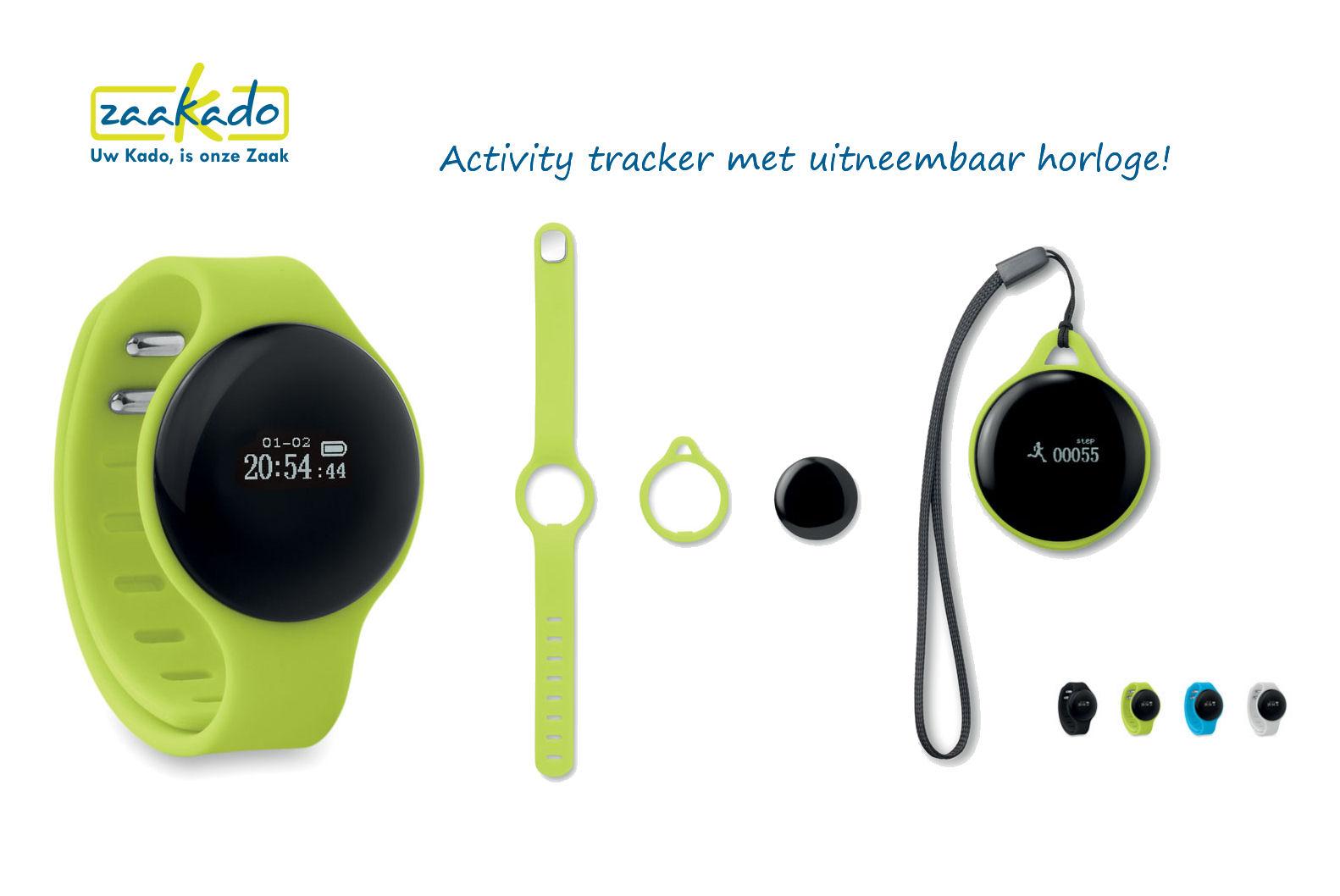 Activity tracker sportarmband health relatiegeschenken sportief met logo bedrukt gepersonaliseerd Zaakado Rotterdam