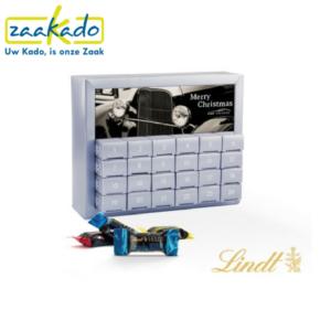 Adventskalender merk chocolade Lindt Brandt Ritter Sport kwaliteit bonbons truffels hippe relatiegeschenken origineel geschenk logo ZaaKado Rotterdam