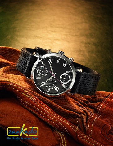 Autoband-horloge-logo-relatiegeschenk-autobranche-mannen-kadotip-auto-monteurs-eindejaarsgeschenk-stoer-hip-functioneel-ZaaKadotip