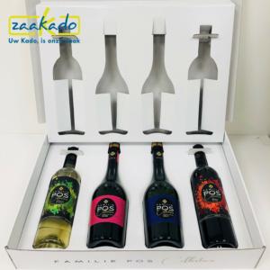 Bedrukking Inlay full colour snijden wijnflessen Gepersonaliseerd persoonlijk verhaal dozen doos verpakking inpakken cadeau