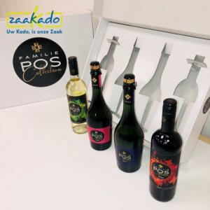 Bedrukt Inlay full colour rotterdam zaakado wijnflessen Gepersonaliseerd persoonlijk verhaal dozen doos verpakking inpakken cadeau Zaakadotip relatiegeschenken
