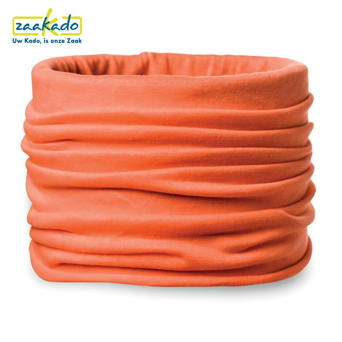 Bedrukte Bandana oranje Koningsdag studenten kinderen scholen koor giveaway logo ZaaKado Rotterdam relatiegeschenken
