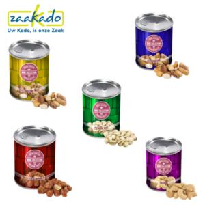 Blik noten Gezond fit energie fruit nieuwjaar voornemens energie Zaakadotip relatiegeschenken zaakado giveaway inspiratie rotterdam gadget