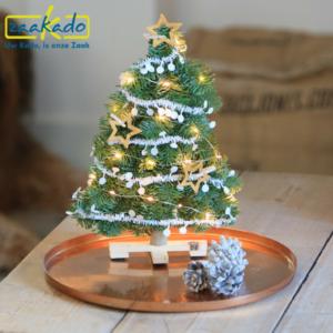 Eindejaarsgeschenk kerst kerstboom brievenbus brievenbusgeschenk brievenbusformaat per post versturen persoonlijk op maat hip logo relatiegeschenk ZaaKado Rotterdam