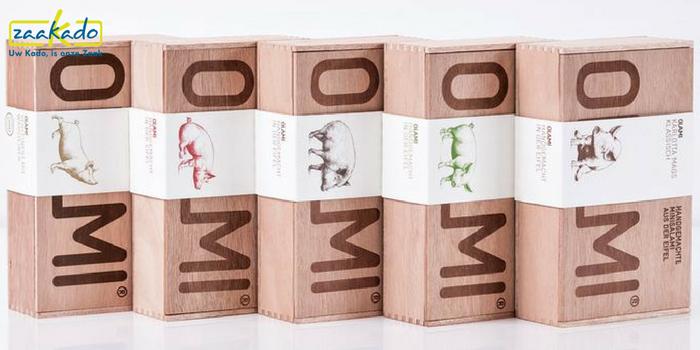 Eindejaarsgeschenk salami logo horeca horecabedrijf ziekenhuis retail detailhandel bank school scholen universiteiten reclamebureau advocaten financieel relatiegeschenk ZaaKado Rotterdam