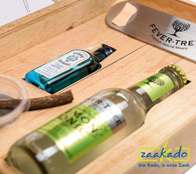 Gin Tonic relatiegeschenken luxe met logo kerst hippe gadgets zomerse geschenken bedrukt ZaaKado Rotterdam wp