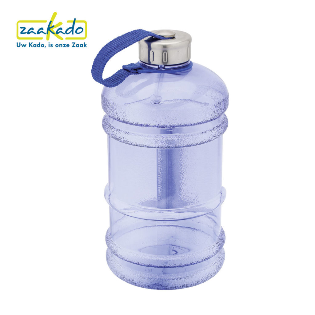 grote drinkfles fitness sport logo fit gezondheid water drinken cadeau