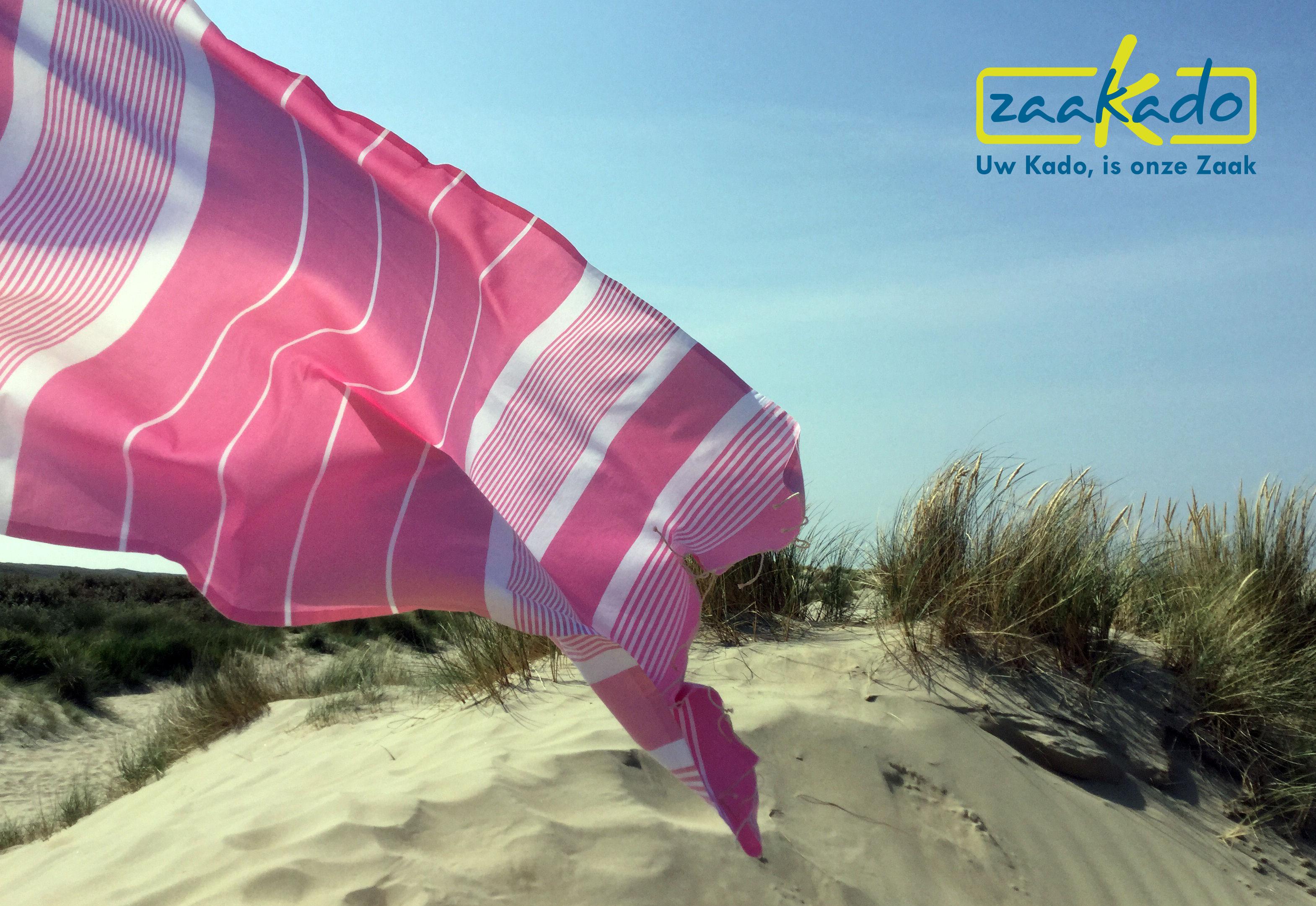 Hamam handdoek badlaken met logo ingewezen hippe zomer relatiegeschenken Zaakado Rotterdam hammam