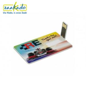 Handig creditcard pas portemonnee USB-stick USB bestanden opslaan thuiskopieheffing voordeel goedkoop ZaaKado ZaaKadotip Rotterdam Relatiegeschenken giveaway