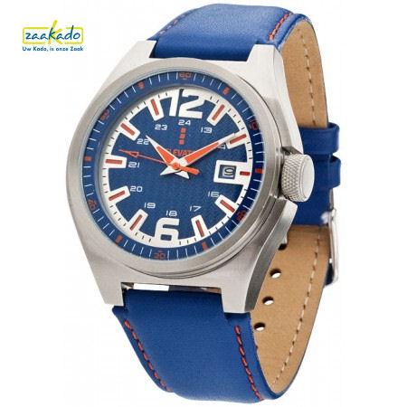 Horloge met logo op wijzerplaat bedrukken luxe relatiegeschenk Kerst cadeau ZaaKado Rotterdam