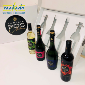 Inlay full colour snijden logo wijnflessen Gepersonaliseerd persoonlijk verhaal dozen doos verpakking inpakken cadeau Zaakadotip