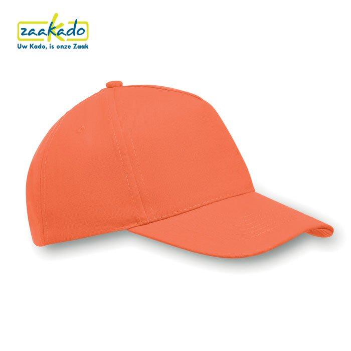 Koningsdag oranje cap pet met logo bedrukken giveaway event kraampjes markten scholen universiteiten