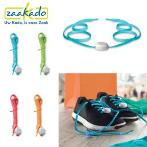 Marathon hardloopschoenen gezond veters hip kleurrijk rood, groen, oranje, blauw origineel personaliseren wandelen Zaakado logo bedruktrelatiegeschenken zaakadotip giveaway inspiratie rotterdam gadget