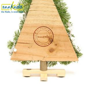 Mini kerstboom kleinigheidje give away klein cadeau weggeven per post verzenden make a wish nederland goed doel brievenbus geschenk relatiegeschenk kerst kerstmis ZaaKado Rotterdam
