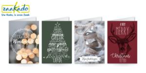 Mini kerstboom logo huisstijl naamsbekendheid kerstkaart kerstwens kerstwenskaart eigen ontwerp bedrukking persoonlijke boodschap relatiegeschenk brievenbus geschenk kerst kerstmis ZaaKado Rotterdam