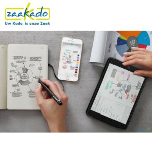 Moleskin Smart Writing Set schrijven pen papier boekje smartphone tablet ideeën digitaal technologie  Paper Tablet Zaakado rotterdam gadget zakelijk relatiegeschenken giveaways