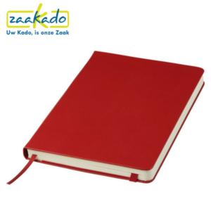 Moleskine rood Classic Hard soft Cover Large gelinieerd notitieboek logo personaliseren karton kaft papier schrijven pen aantekeningen rood schetsen Zaakado rotterdam gadget zakelijk relatiegeschenken