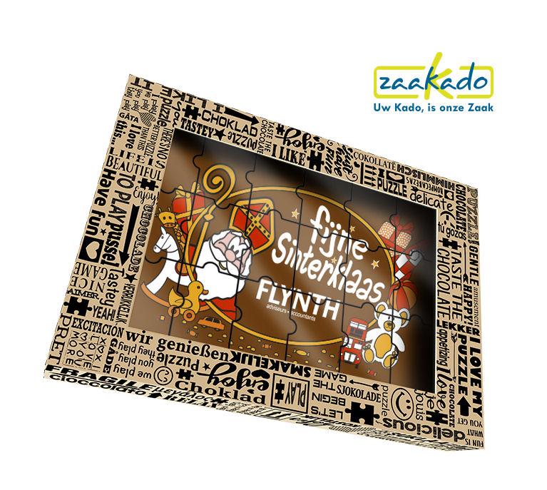 ieuw Sinterklaas chocolade puzzel 2016 super leuk brievenbus geschikt en makkelijke te delen met collegas chocolade geschenk Sinterklaas ZaaKado Rotterdam