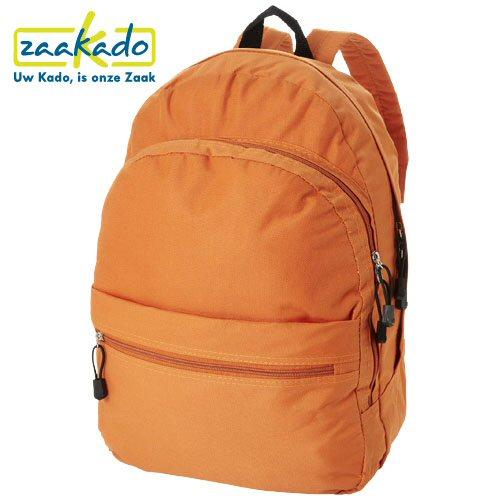 Oranje rugzak Koningsdag functioneel relatiegeschenk giveaway met logo bedrukt ZaaKado Rotterdam