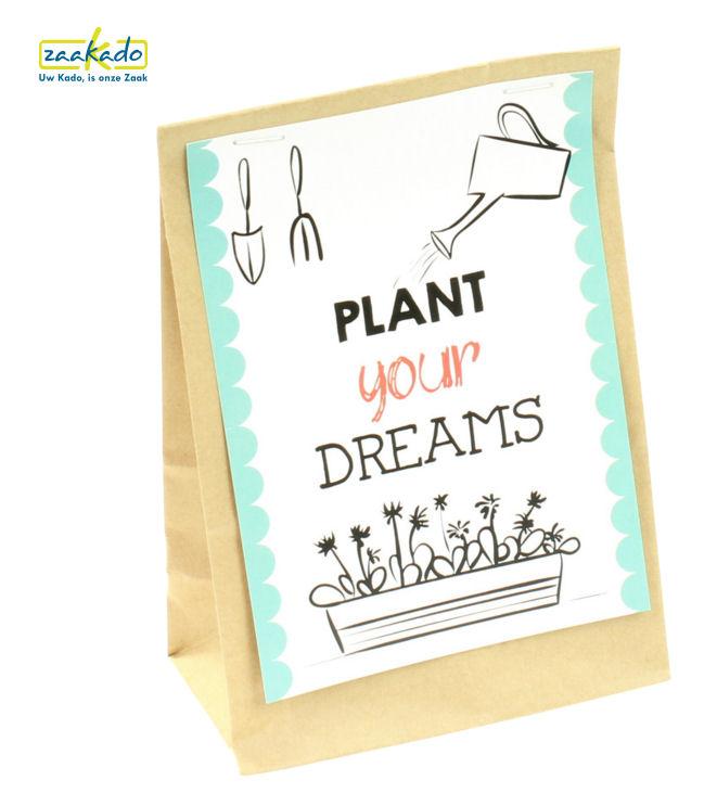 Plant your dreams Relatiegeschenken Zaakado MVO rotterdam jute
