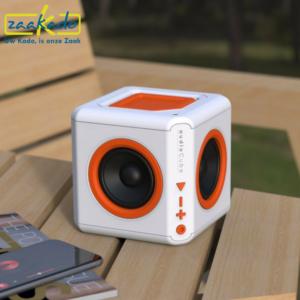 PowerCube AudioCube stekkerdoos bluetooth speaker gadget jongeren volwassenen mannen vrouwen meisjes jongens jong professioneel muzikaal muziek relatiegeschenk ZaaKado Rotterdam