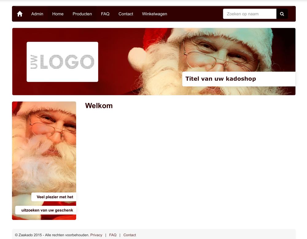 kerst kadoshop online zelf een geschenk uitkiezen met Kadoshopmanager.nl, ZaaKAdo Rotterdam