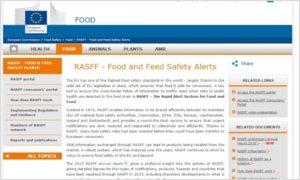 Rasff voedsel rapport notificatiesysteem waarschuwingssysteem maatschappelijk verantwoord ondernemen CSR Zaakado relatiegeschenken rotterdam gadgets giveaway