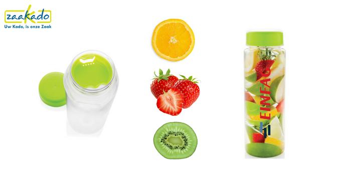 Verkoelende relatiegeschenken Relatiegeschenk-drinkfles-fles-infuser-fruit-vitaminen-smaak-bedrukking-medewerkers-