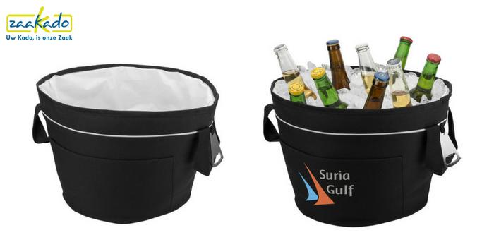 Verkoelende relatiegeschenken Relatiegeschenk-opvouwbare-emmer-koelemmer-isolatie-drinken-koud-picknick
