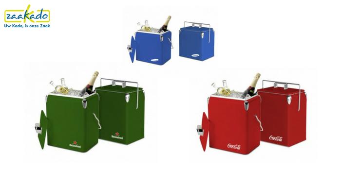 Verkoelende relatiegeschenken Relatiegeschenk-retro-koelbox-merk-luxe-kleuren-personalisatie