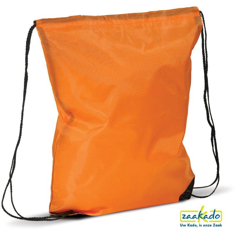 Rugzak Koningsdag oranje bedrukken functioneel ZaaKado giveaway tas promotioneel opvallend gepersoinaliseerd