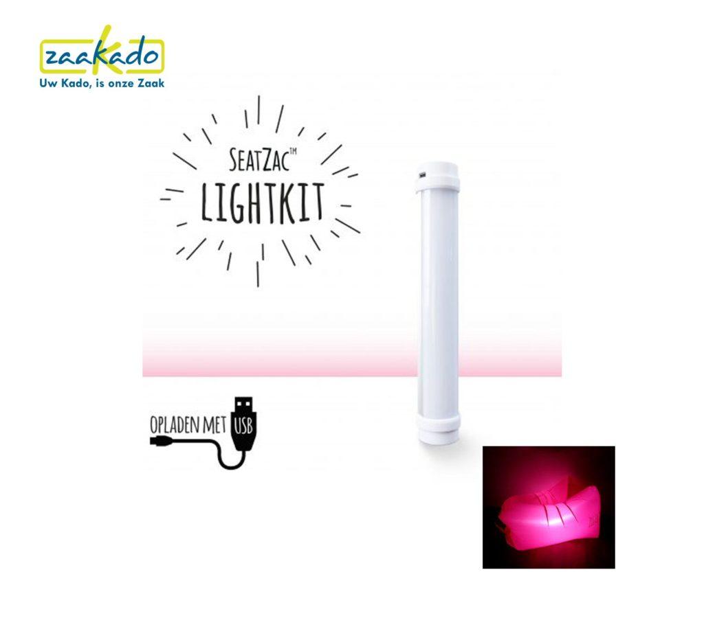 SeatZac lamp USB opladen gave giveaway verlicht opvallen onderscheiden stand zomer zon festival beach logo bedrukken personaliseren ZaaKado Rotterdam PromZlive 2017