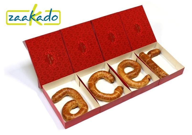Sinterklaas relatiegeschenken, banketletters in eigen letters relatiegeschenken ZaaKado