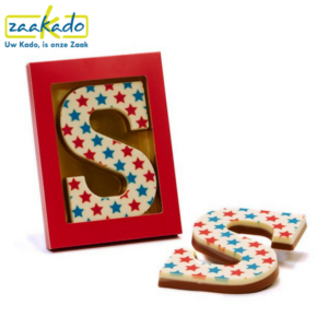Sinterklaas chocoladegeschenken chocolade relatiegeschenk logo chocoladeletter bedrukken eigen ontwerp huisstijl naar wens full colour bedrukking logo ZaaKado Rotterdam