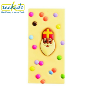 Sinterklaas chocoladegeschenken chocolade relatiegeschenk sint en piet chocolade melk wit geschenk give away kleinigheidje weggeven klein logo ZaaKado Rotterdam