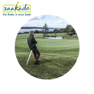 Sitpack Golf golven grasveld uitrusten Vakantie wandeling logo drukken zitten klein opvouwbaar stok comfortabel cadeau Zaakado rotterdam relatiegeschenken gadgets giveaway inspiratie