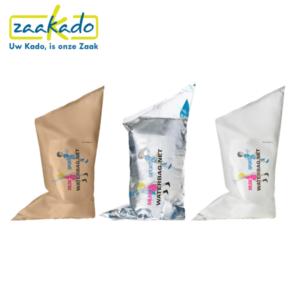 Sitpack Waterzak festival feest buiten zomer water waterfles drukwerk logo zitten klein opvouwbaar stok comfortabel cadeau Zaakado rotterdam relatiegeschenken gadgets giveaway inspiratie
