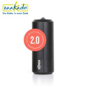 Sitpack Zwart drukwerk drukken nieuw logo personaliseren zitten klein opvouwbaar stok comfortabel cadeau Zaakado rotterdam relatiegeschenken gadgets giveaway inspiratie