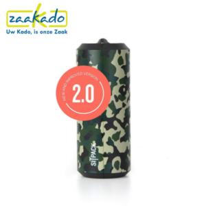 Sitpack Zwart leger army groen drukwerk drukken logo personaliseren zitten klein opvouwbaar stok comfortabel cadeau Zaakado rotterdam relatiegeschenken gadgets giveaway inspiratie