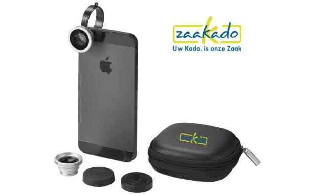 Smartphone lenzenset bedrukt met uw logo - Zaakado.nl