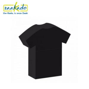 T-shirt Shirt USB-stick USB bestanden opslaan USB veilig thuiskopieheffing voordeel goedkoop ZaaKado ZaaKadotip Rotterdam Relatiegeschenken giveaway