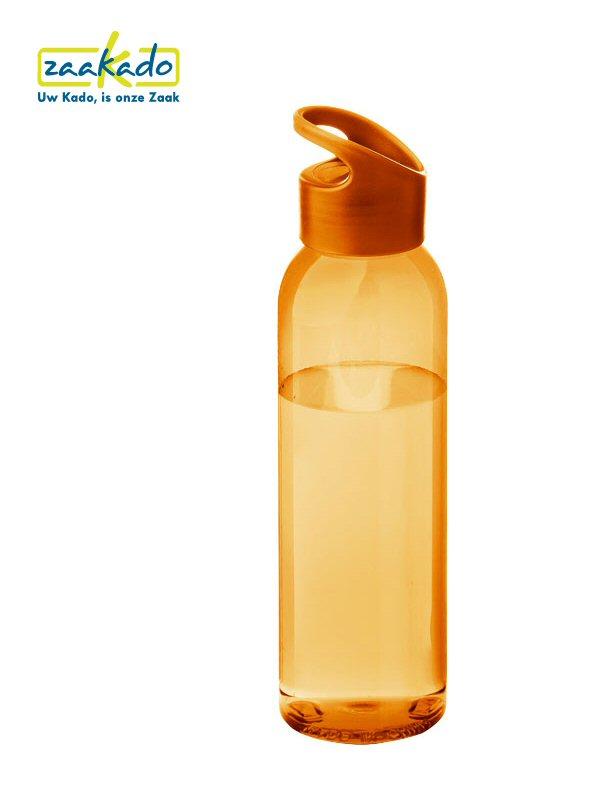 Waterfles oranje Koninsdag geschenk full colour bedrukt grote drinkfles giveaway weggevertje ZaaKado Rotterdam relatiegeschenken