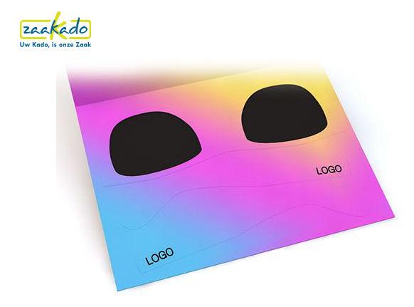 Zonnebril ansichtkaart full colour CMYK te bedrukken in uw eigen design ZaaKado Rotterdam