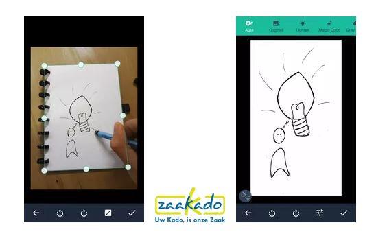 app correctbook notitiebook personeel papierloos werken notitieboek kladb