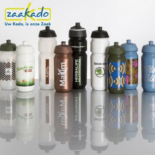 biologisch afbreekbare bidon bedrukken bidon bio bottle biologisch afbreekbaar natuurlijk groen duurzaam natuurvriendelijk milieubewust plastic recyclen Zaakado relatiegeschenken personaliseren zaakadotip giveaway inspiratie rotterdam gadget
