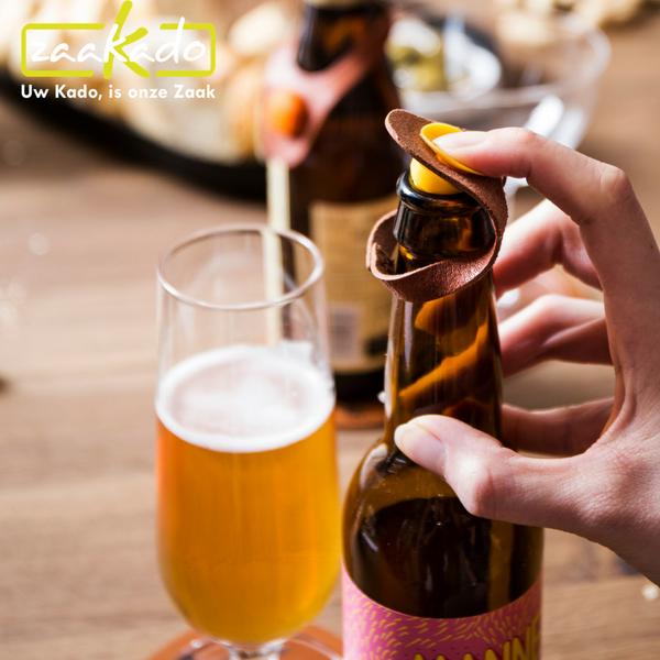 leer flesafsluiter vacu vin mannen bier gadgets biergadget bierproeverij biertje biergeschenken origineel hip geschenkenset bierglazen relatiegeschenk zaakado rotterdam giveaway personaliseren