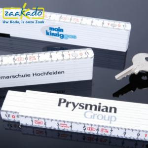 magneet spijkers sleutels duimstok inmeten graden schaal logo ZaaKadotip relatiegeschenken ZaaKado giveaway inspiratie Rotterdam gadget logo bedrukken