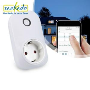 smart socket stopcontact wifi veiligheid inbraak zaakadotip relatiegeschenken zaakado giveaway inspiratie rotterdam gadget